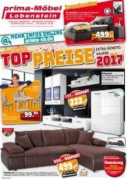 Prima Möbel Lobenstein - Die ersten Top-Preise 2017: Möbel und Küchen extra günstig kaufen!