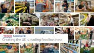 Creating the UK's leading food business