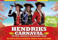 Hendriks Carnaval folder 2017