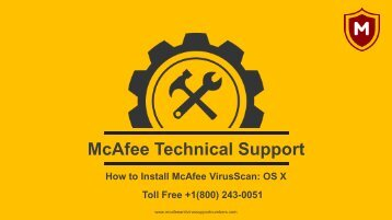 How to Install McAfee VirusScan OS X