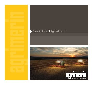 Agrimerin Catalogue 2017