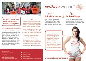 erdbeerwoche-Informationsbroschüre