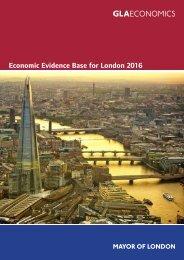Economic Evidence Base for London 2016