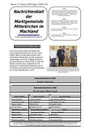 Februar 2003 - Mitterkirchen im Machland