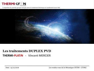 THERMI-PLATiN - Vincent MERCIER