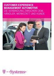 Auszug aus dem White Paper zu Customer Experience Management Automotive