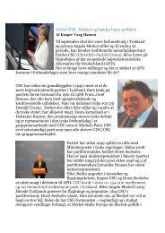 ANALYSE Merkel og hendes Højre problem