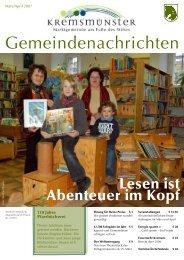 Gemeindenachrichten März/April 2007 (0 bytes) - Marktgemeinde ...