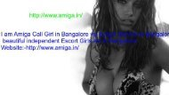 Bangalore escorts agency | independent escorts in Bangalore