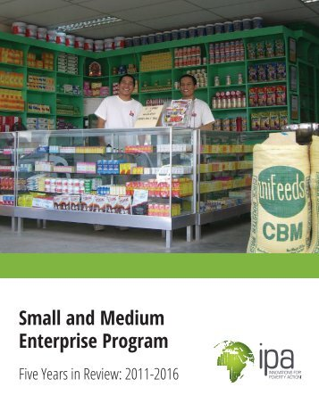 Small and Medium Enterprise Program
