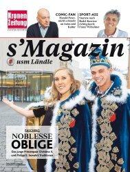 s'Magazin usm Ländle, 29. Jänner 2017