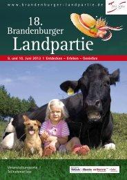 Brandenburger - Bauer sucht Koch