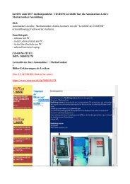 Automatiker-Lehre: CD-ROM Lernhilfe