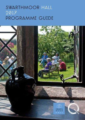 Swarthmoor hall 2017 Programme guide