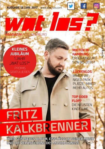 Wat Los? / Ausgabe 01 - 2017