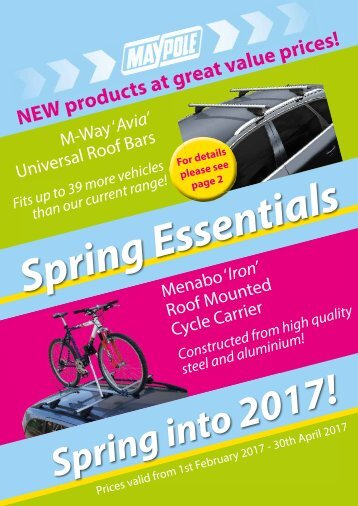 Maypole 2017 Spring Offers