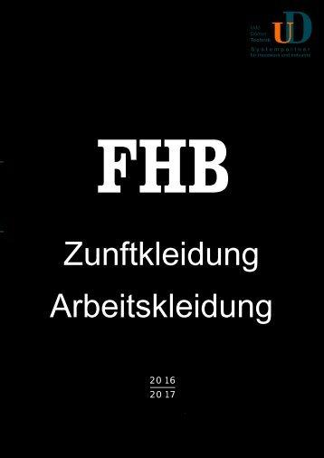FHB Zunft- und Arbeitskleidung