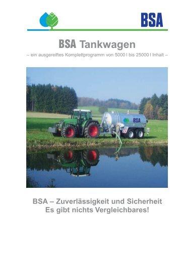BSA Tankwagen