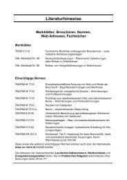 Literaturhinweise Merkblätter, Broschüren ... - krokowski-elze.de