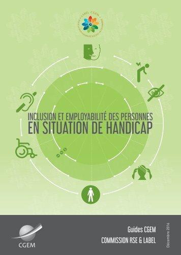 Guide CGEM - Inclusion et Employabilité des personnes en situation de handicap