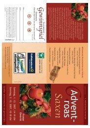 folder advent - Marktgemeinde Saxen