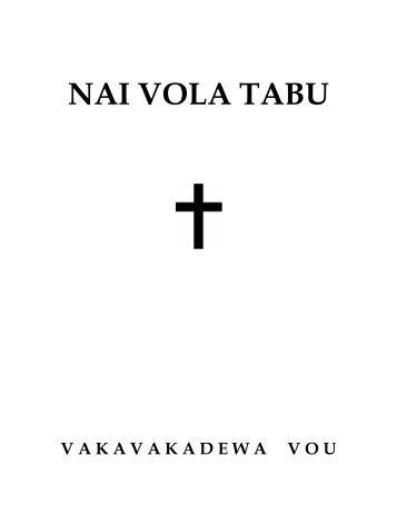 NAI VOLA TABU - GospelGo