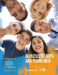 Adolescent Boys and Young Men