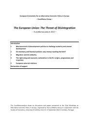 The European Union The Threat of Disintegration