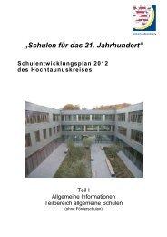 """""""Schulen für das 21. Jahrhundert"""" - Adolf Reichwein Schule"""