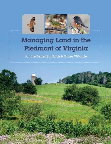 Managing Land in the Piedmont of Virginia