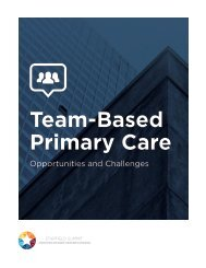Team-Based Primary Care