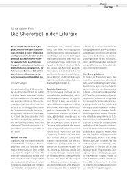 Die Chororgel in der LIturgie (Mario Pinggera)