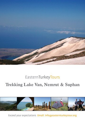 Trekking Lake Van, Nemrut & Suphan
