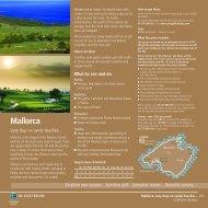 Golf Holidays Mallorca