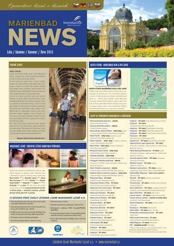 Marienbad News 2/13