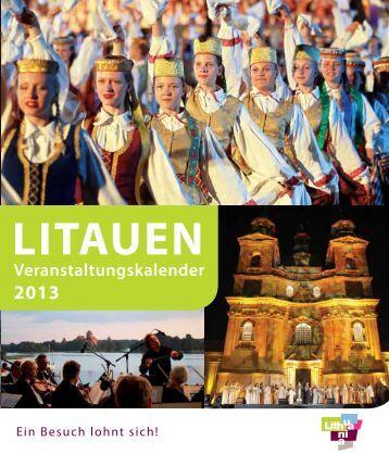 LITAUEN Veranstaltungskalender 2013