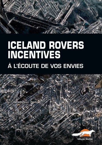 Iceland Rovers Incentives
