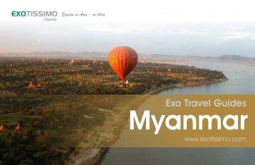 Exo Travel Guide: Myanmar
