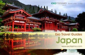 Exo Travel Guide: Japan