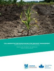 COLLABORATIVE DECISION-MAKING FOR DROUGHT MANAGEMENT