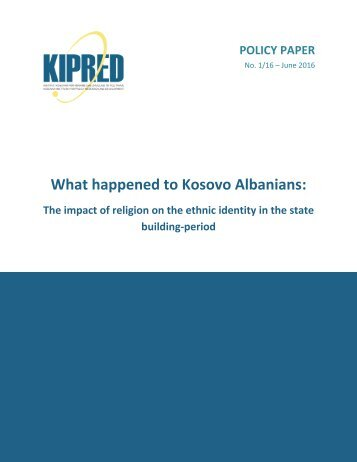 What happened to Kosovo Albanians