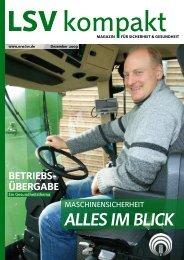 LSV kompakt Dezember 2009 - Die Landwirtschaftliche ...