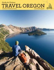 Travel Oregon Visitor Guide