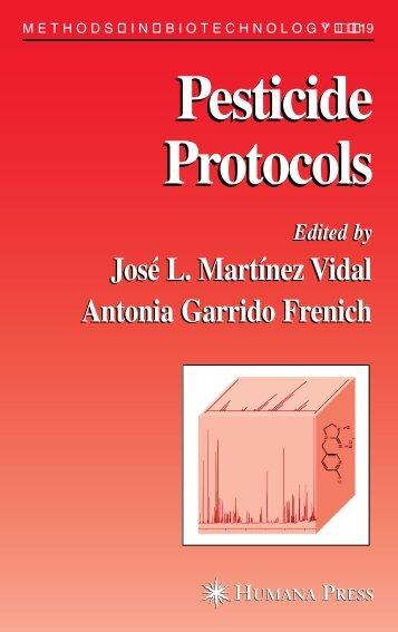 Pesticide Protocols Pesticide Protocols