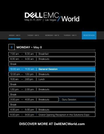 DISCOVER MORE AT DellEMCWorld.com