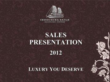 Indochina Sails Presentation