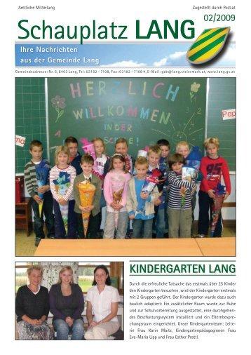 Schauplatz Lang 2009/02