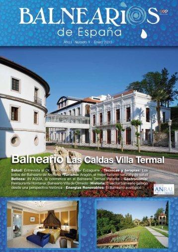 Balnearios de Espana No.1 - Enero 2010