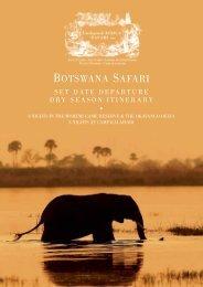 Botswana Safari Dry Season