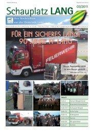 Schauplatz Lang 2011/03